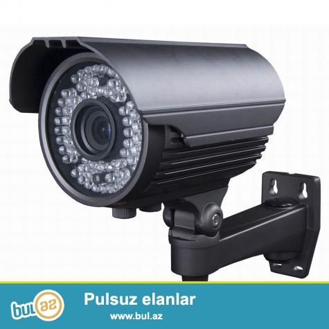 Kamera_Domafon_Siqnalizasiya<br /> Yaddaw diski ve adaptor da daxil olmaqla Gorulen iwlere  ve avadanliqlara bir il tam zemanet verilir.