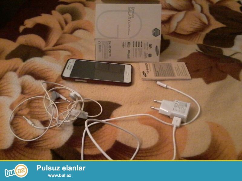 Əla vəziyyətdə Samsung GRAND PRİME satıram, 2 kartlı və 8 yaddaşlıdır...