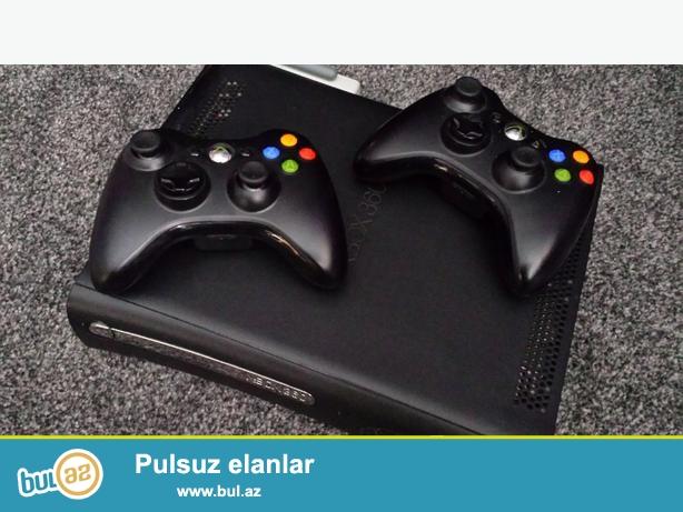 xbox 360 120gb elite satilir veya notbuk'la barter edilir<br /> xbox 360 120gb elite + 2 joystic + oyunlar + HDMI CABEL<br /> PROSIFKALIDI...