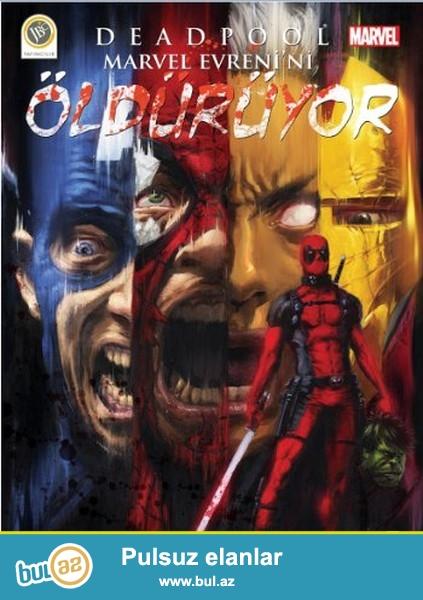 Marvel komiks heveskarlari ucun evez olunmaz 2 buraxlis<br /> Deadpool<br /> Punisher