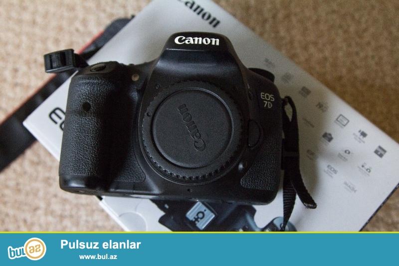 Canon EOS 7D 18.0 MP Digital SLR Camera.<br /> <br /> istifadəçi kitabçası:<br /> <br /> Brand Canon<br /> Model EOS 7D<br /> Əsas Xüsusiyyətlər<br /> Camera növü Digital SLR<br /> <br />  Aşağıdakı məlumatları ilə əlaqə saxlaya bilərsiniz:<br /> <br /> Gmail: salesmarket27@gmail...