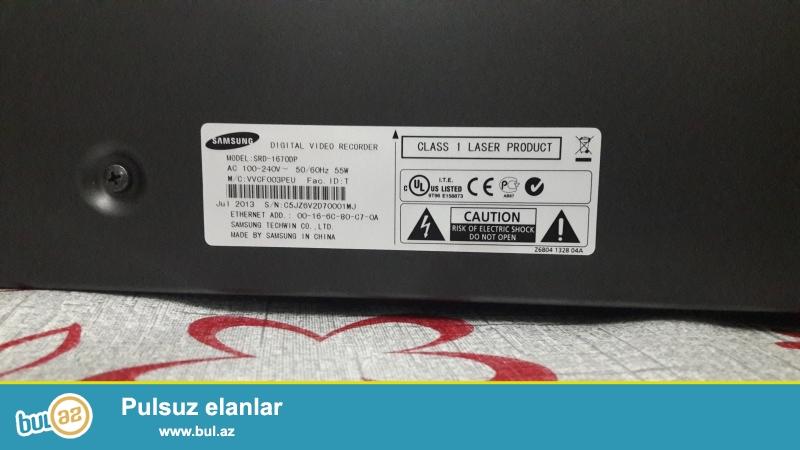 Təcili satılır! <br /> Samsung DVR 16 Channel (original)<br /> Təzədir,işlənməyib,hər şeyi qutusundadır...