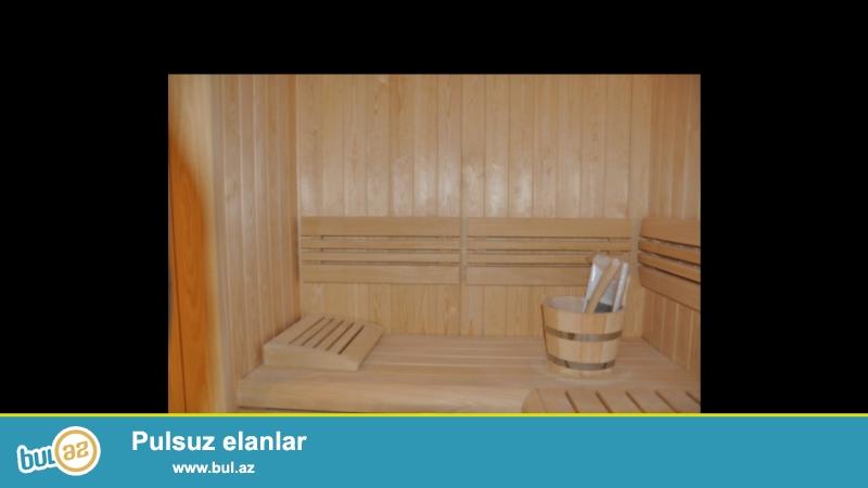 Fin sauna və Rus hamamı tikintisində əsasən xaricdən gətirilən lipa taxtası və Harviyanın qızdırcıları qurulur...