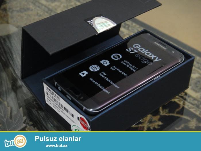 satış Samsung Galaxy S7 32GB EDGE zavodu üçün etmişlər...
