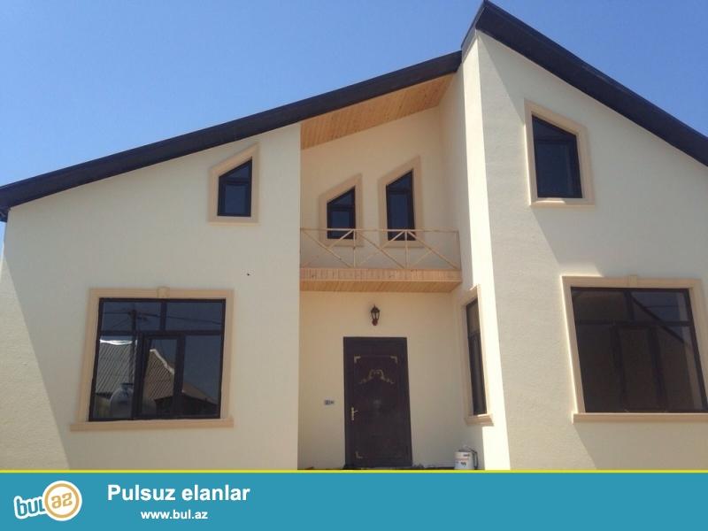 Срочно! Продается  2-х  этажный (2-й этаж мансарда ) 3-х комнатный частный дом в посёлке Мардака   - рядом с Далга Арена  ...