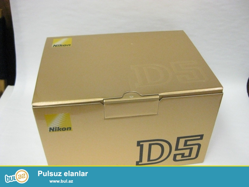 Nikon D5 20.8 MP Digital SLR Camera.<br /> <br /> istifadəçi kitabçası:<br /> <br /> Brand Nikon<br /> Model D5<br /> Əsas Xüsusiyyətlər<br /> Camera növü Digital SLR<br /> Sensor Resolution 20...