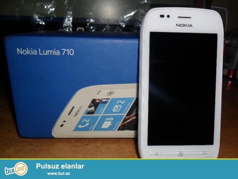 Salam. Lumia 710 satiram,problemi yoxdu ela isleyir...
