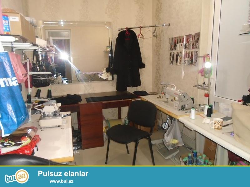 Yasamal rayonu, Musabəyov parkının yanında, 100 kv.m sahəli gözəllik salonu icarəyə verilir...