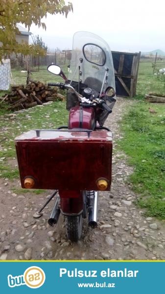 SALAM ,Motosiklet saz veziyyetdedi Generatorla barter olunur klovatina baxir ciddi wexsler narahat etsin razilawariq whatsapp var.