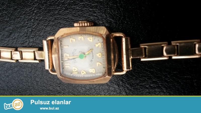ЭКСКЛЮЗИВ!!! Продаю сам. Из качественного золото женские часы Советского производство...
