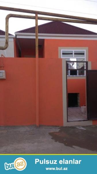 DIQQET!!!! Tecili Xirdalan seh S.Rustem kuc Yeni tikilen 2 otaqli sahesi 60 m2 olan tam temirli, seraitli heyet evi satilir...