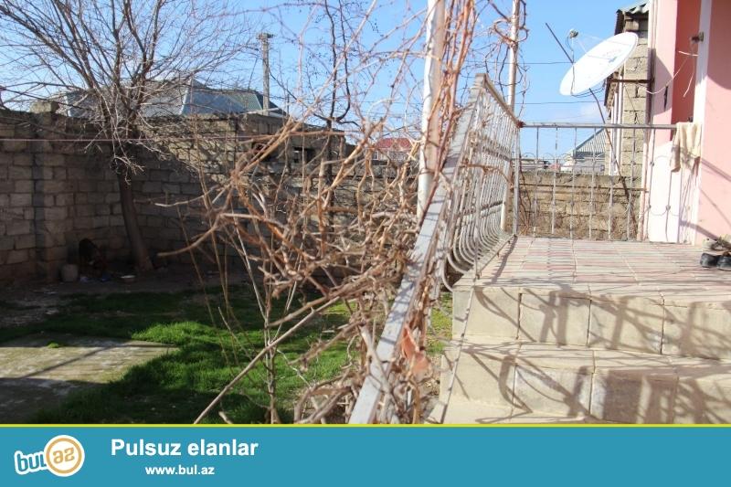 Ramanada 163 nöm marşuruta  yaxın yerdə  2 sot torpaq sahəsində 3 otaqlı kürsülü  ev satılır...