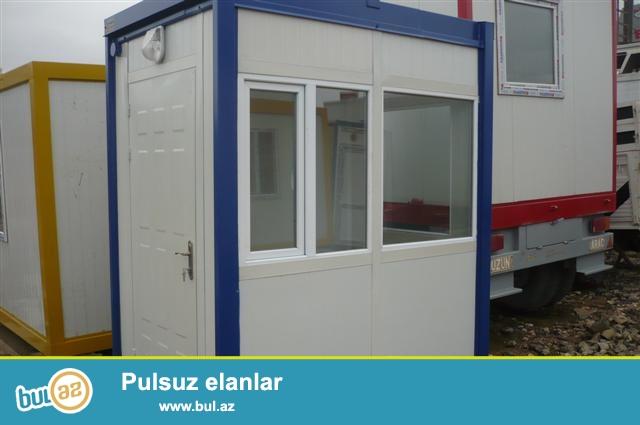 Hər növ mühafizə otaqlarinin, konteynerlerin , panel evlerin yigimi ...
