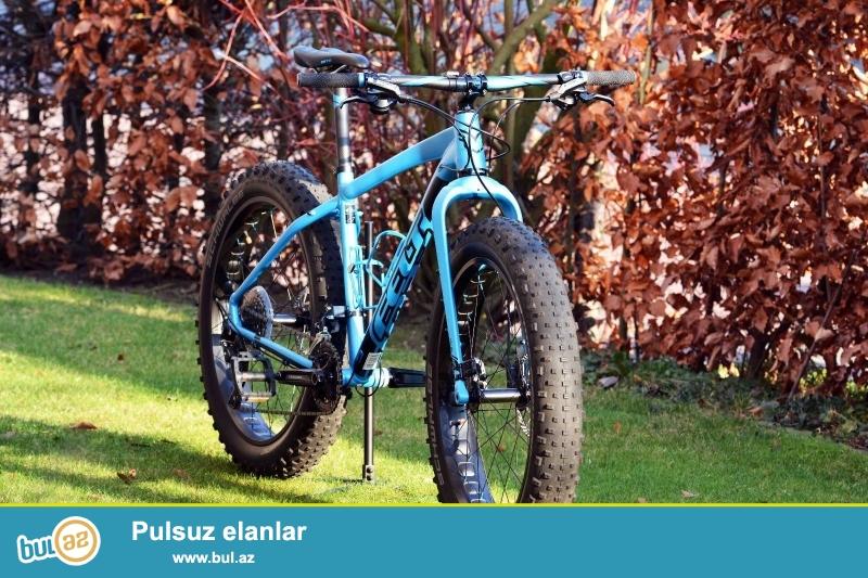 <br /> yeni Felt Fatbike Double Double 30 Model: 2016 göz alıcı mavi...