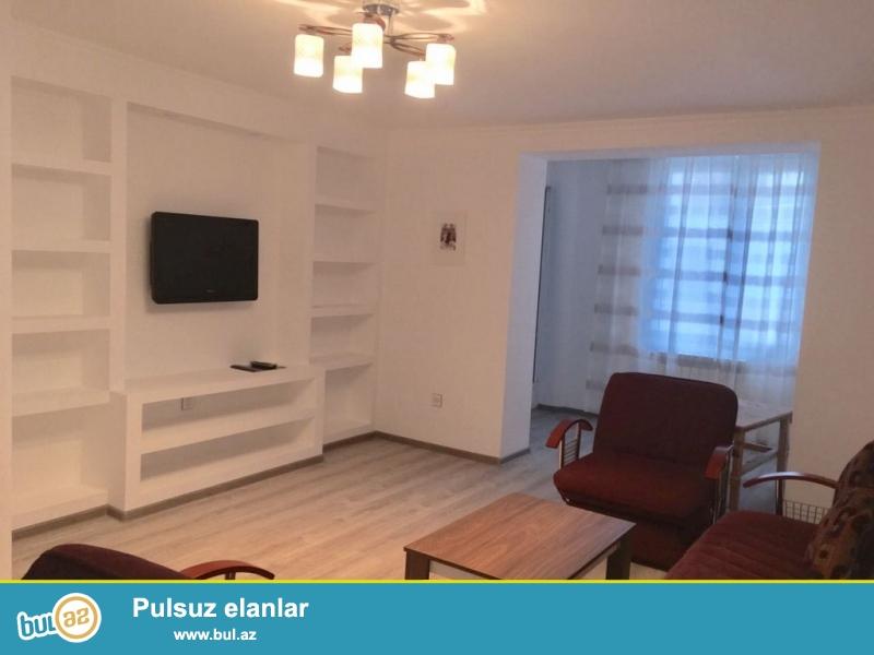 Очень  срочно! По проспекту Иншаатчылар,рядом со Статистикой сдается в аренду для солидным клиентам  3-х комнатная  квартира стар...