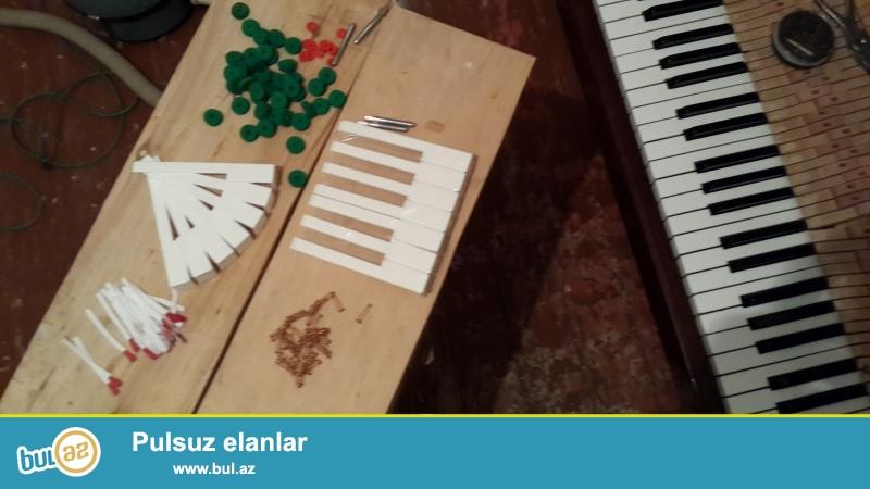 350 manatdan bashlayan giymətlərlə pianinolarin satishi. Pianinolrin təmiri, kölənməsi, bərpasi.