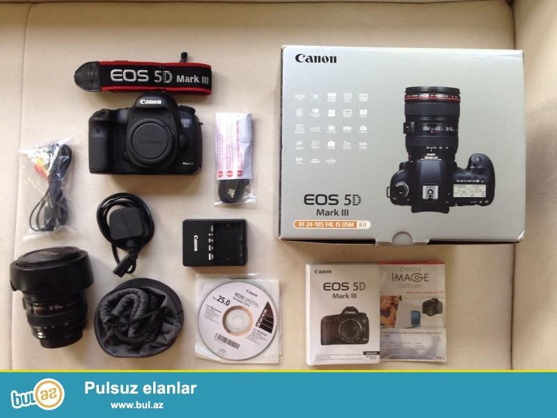 Promo! Promo !! Promo !!!<br /> <br /> 5 dənə 2 pulsuz almaq al!<br /> <br /> Canon EOS 5D Mark III 24-105mm EF Lens WhatsApp: +447452264959<br /> <br /> Canon 5D Mark III Digital Camera<br /> Canon 24-105mm F / 4L USM AF Lens IS<br /> lens Cap E-77U 77mm snap<br /> Lens Dust Cap E<br /> EW-83H<br /> LP1219 Soft Lens Case<br /> LPE6 oluna Lithium-Ion Battery Pack<br /> LC-E6 Battery Charger<br /> bağlama haqqında sorğu üçün aşağıdakı məlumatları əlavə:<br /> <br /> skype: unbetable...