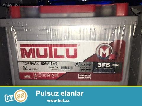 Brend akumulyatorlarin Her olcude satisini ve qurasdirilmasini en munasib qiymetlerle teskil edirik<br /> <br /> Varta (Almaniya) <br /> Centra (polsa) <br /> Mutlu (Turkiye) <br /> Action (Turkiye) <br /> inci (Turkiye)<br /> <br /> https://www...