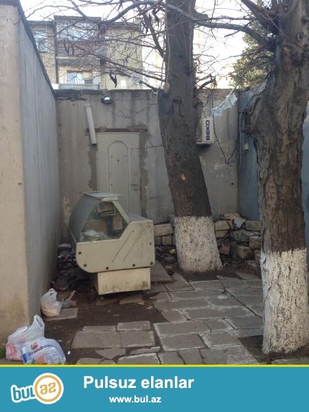 Genclik metrosuna yaxın, iki tərəfə qapısı olan, 25 m2 qaraj satılır...