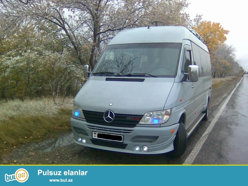 Mercedes Sprinter VİP mikroavtobusla s=şəhərdaxili və rayonlara sifariş qəbul olunur...