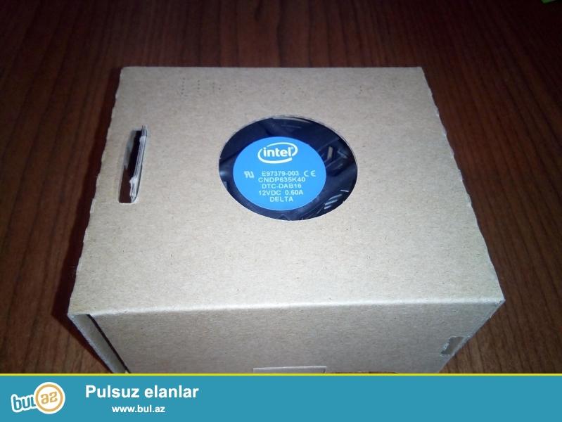 Yeni Intel stock cooler (socket 1151) satılır. Overclock üçün nəzərdə tutulmayan 6-cı nəsil Pentium, Core i3 və Core i5 prosessorları üçün ideal seçimdir.