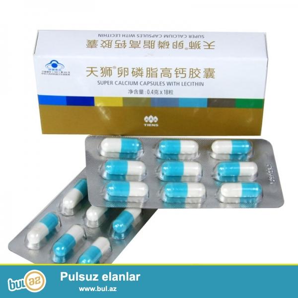 İribuynuzlu öküzlərin sümüklərindən hazırlanmış beyin fəaliyyəti üçün kalsium lesitin ,taurin və vitaminlərlə zəngindir...