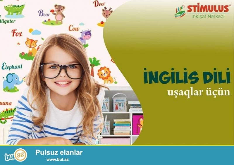 STİMULUS İnkişaf Mərkəzi 4 - 14 yaşlı uşaqları İNGİLİS dili kurslarına dəvət edir...