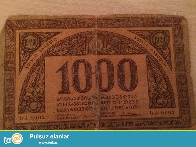 1919-1921ci ilin qedim pulları satıram 3ededdir ...