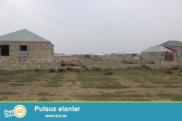 Abseron rayonu  Məmmədi qəsəbəsində  əsas yoldan 1km  məsafədə  eni 18 m...