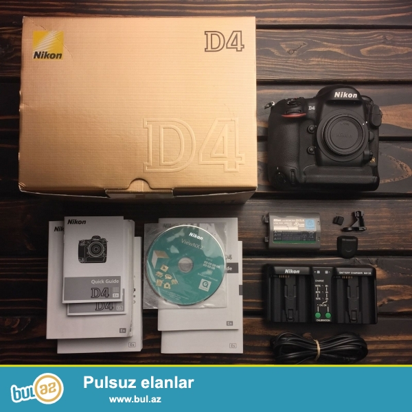 2 Units 1 pulsuz almaq al!<br /> <br /> <br /> Nikon DS4 Digital SLR Camera bir immersive fotoqrafiya təcrübəsi ilə istifadəçilər təmin edir...
