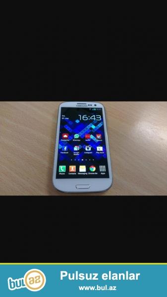 Samsung s3 satiram 150azn hec bir problemi yoxdur ekrani deyisilmiyib arxasi acilmigib 6-7aydiki almisam bir soznen suoer telefonda ekranda cızıq çart yoxdu şüşə kimidi ekrani əlaqə telefonu 055 920 64 01 rovsen<br /> Whatsapp 055 920 64 01