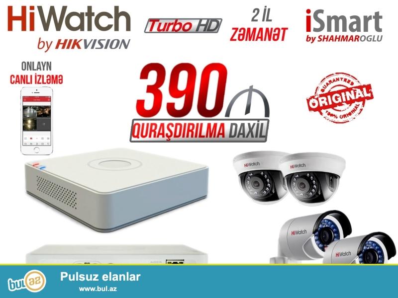 Təhlükəsizlik kameralarının satışı quraşdırılması və servis xidməti...