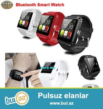 Artıq hərkəsdə SmartWatch (Ağıllı Saat) olmalıdır. SmartWatch sizin dəbli köməkçiniz...