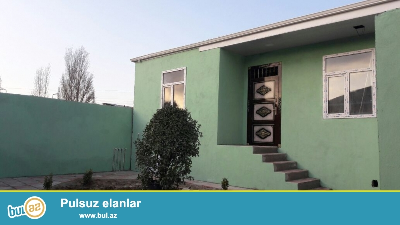 Tecili Mastaga qesebesinde 2 sotun icerisinde ,evin umumi sahesi 100 kv olan 3 otaqli ev satilir ...
