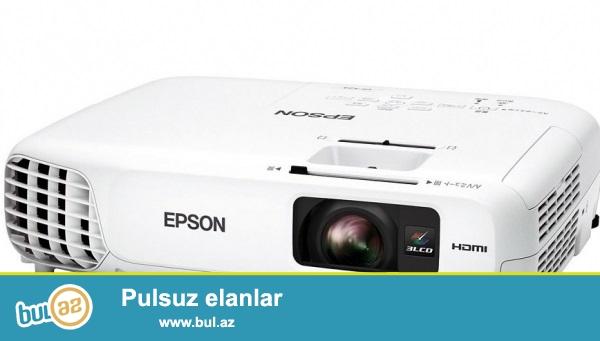 EPSON H716B EB-S04 EEB<br /> Ishiqligi - 3000 lumen<br /> Proyektorun diaqonali -minimum 4 metr   maksimum 7 metr<br /> <br /> Sutkasi - 50 AZN