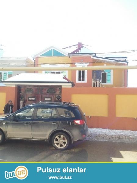 Sabuncu Rayonu Zabrat 1 Qesebesinde 2.soT Torpagin icinde 3 otaqli ev super evro remont  kuruslu cut kubikle tikilmiw 2 mertebeli evin umumi kv...