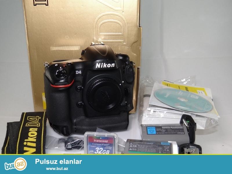Nikon D4S DSLR WhatsApp: +447452264959<br /> <br /> Nikon DS4 Digital SLR Camera bir immersive fotoqrafiya təcrübəsi ilə istifadəçilər təmin edir...