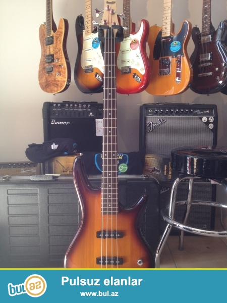 Bass gitara Ibanez GSR180<br /> <br /> Ibanes fender esp gibson kimi mehsur brend firmalara mexsus elektro ve bass gitaralar...