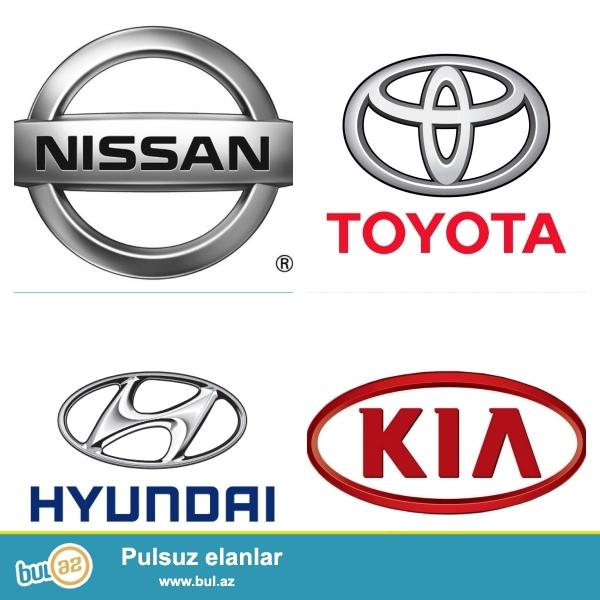Yapon ve Korea istehsali olan avtomobillerin ehtiyat hisselerinin en serfeli qiymetlerle satishi.