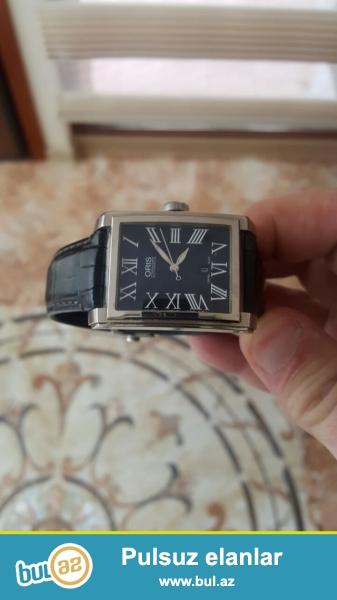 Продаю оригинальные швейцарские часы бренда ORIS. Покупались в именном бутике во Франции за 1300 евро...