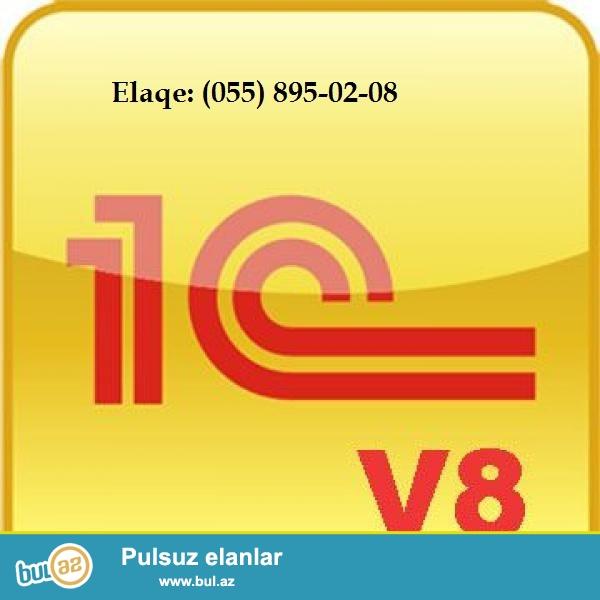 1c 8.2 proqramin yazilmasi(azeri ve rus dillerinde) + Yeni BAZA 0506595689 05589502081c 8...