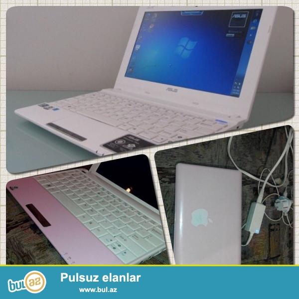 Asus EE PC (netbuk)<br /> Pro:Intel Atom<br /> Ram:2GB<br /> Vga:Intel<br /> Screen:10...