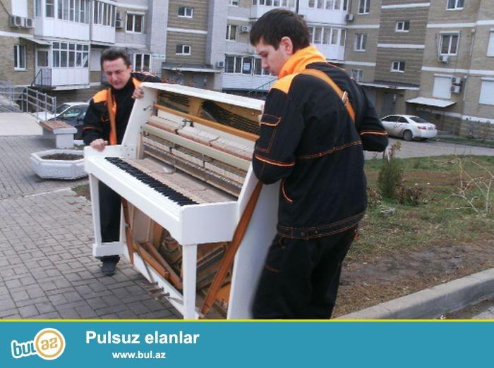 Her rengde ve her modelde, istenilen interyere ve dizayna uyğun Almaniya, Çexoslovakiya ve Rusiya istehsalı pianoları satılır...