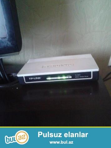 Adsl modem hecbir problemi yoxdu Temirde olmayib normal iwleyir...