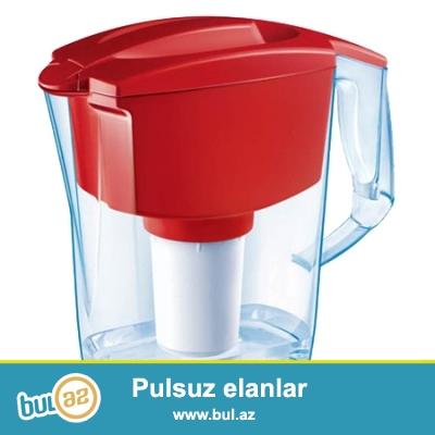 Aquaphor Garry bardaq-filterləri sizə tez və asan şəkildə təmiz su ilə təmin edir...