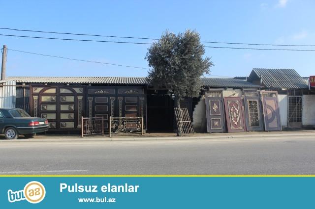 Sabunçu rayonu Zabrat 2 qəsəbəsi, Məscidin yanında, əsas yolun kənarında, ümumi sahəsi 200 kv...