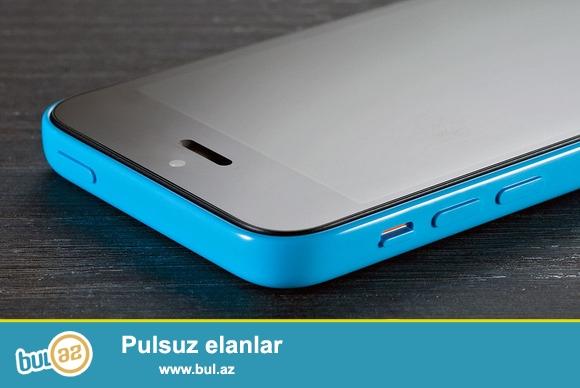 Oz karobkasinda yeni 5 c 16 gb ayfon satilir. Telefon yeni xaricden getirilib, original apple