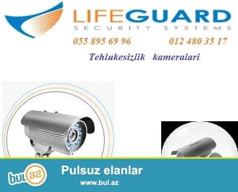 Nezaret sistemleri. Kamera ve s.<br /> <br /> Bizim vezifemiz – keyfiyyetli tehlukesizlik sistemini satisi, professional dizayn, qurasdirma...