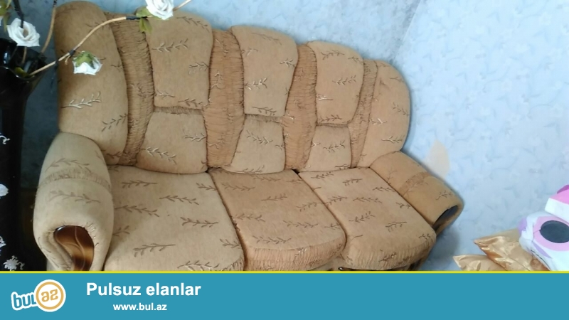 yataq divan kreslo servant satilir tecili