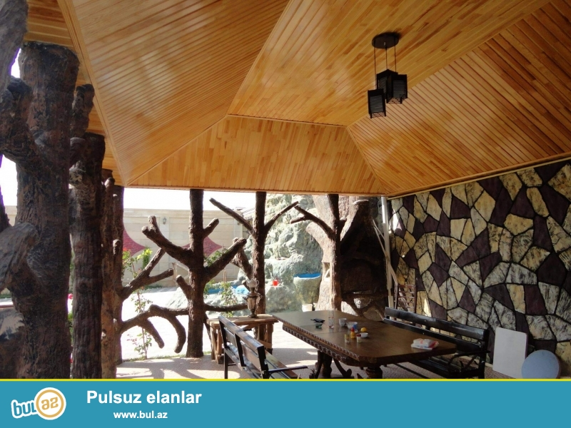 Villalarda, bağ evlərində, restoranlarda hər ölçüdə şəlalə, besetka, manqal, mini körpü, və s...